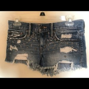 Abercrombie and Fitch denim shorts
